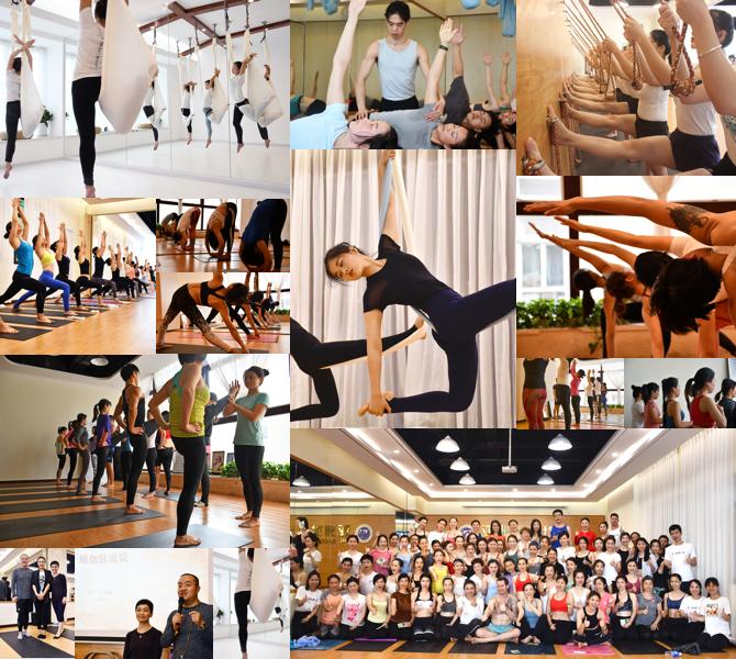 亚协瑜伽学生风采